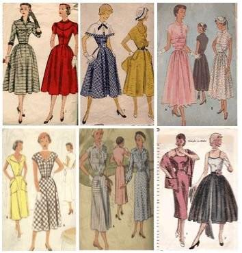 la mode des ann es 1940 et 1950